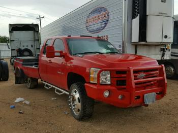 Salvage Chevrolet Silverado 3500HD